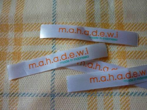 Sampel Satin Printing