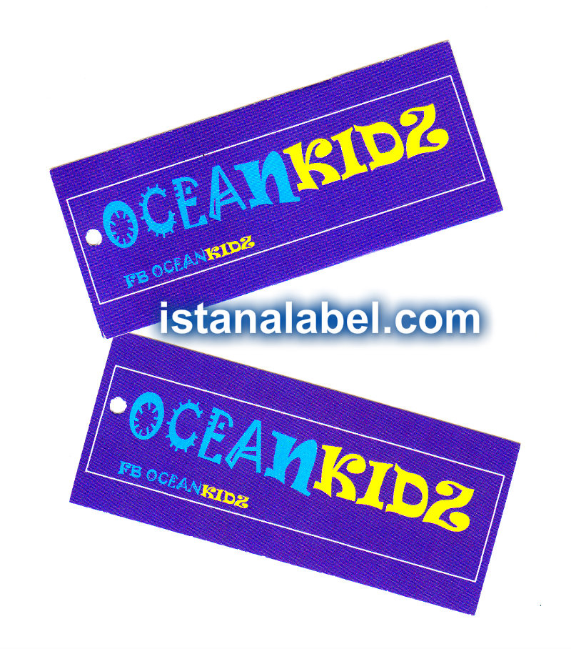 label hangtag