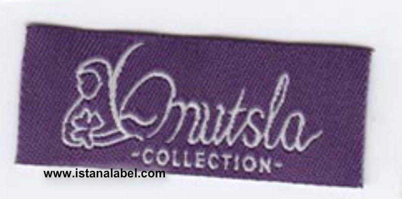 woven label baju