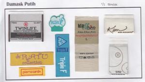 woven label murah